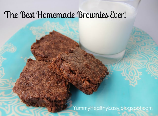 The Best Homemade Brownies Ever