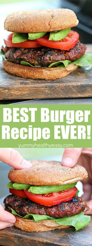 You will not regret trying these burgers! They're quick, easy and delicious!