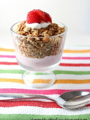 The BEST Homemade Granola Recipe!