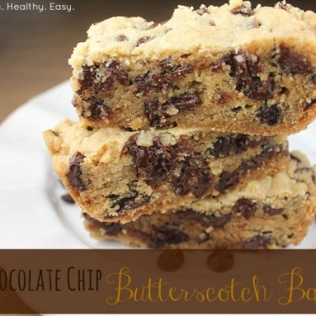 Chocolate Chip Butterscotch Bars