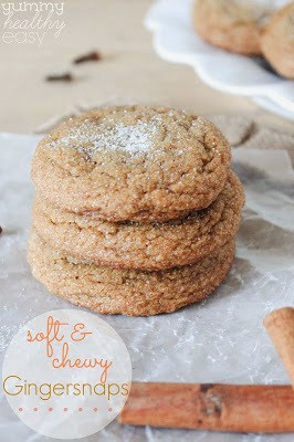 Low-Fat 3 Ingredient Pumpkin Chocolate Chip Cookies - Yummy Healthy ...