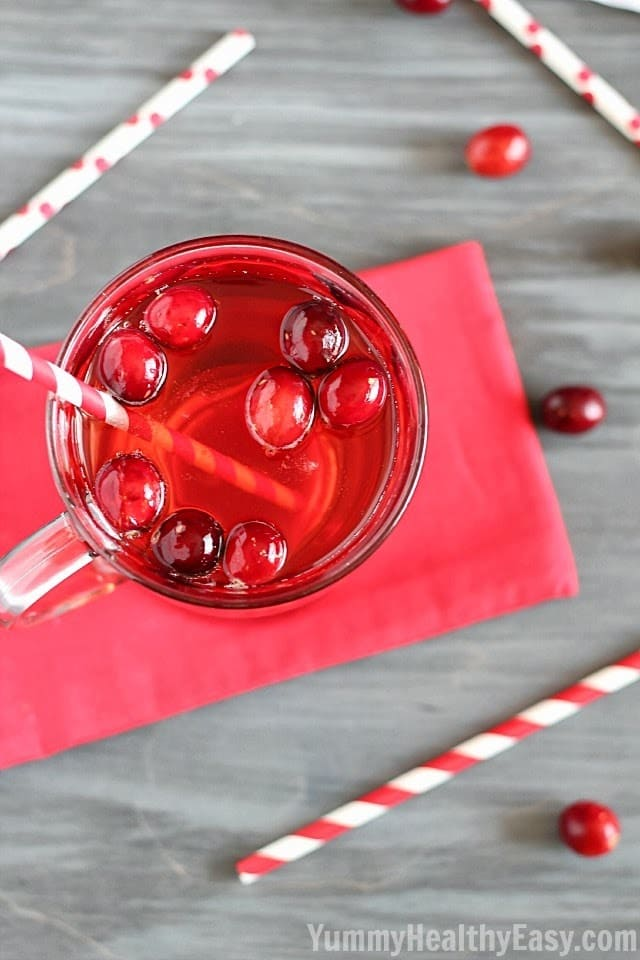 Easy Cranberry Spritzer Drink