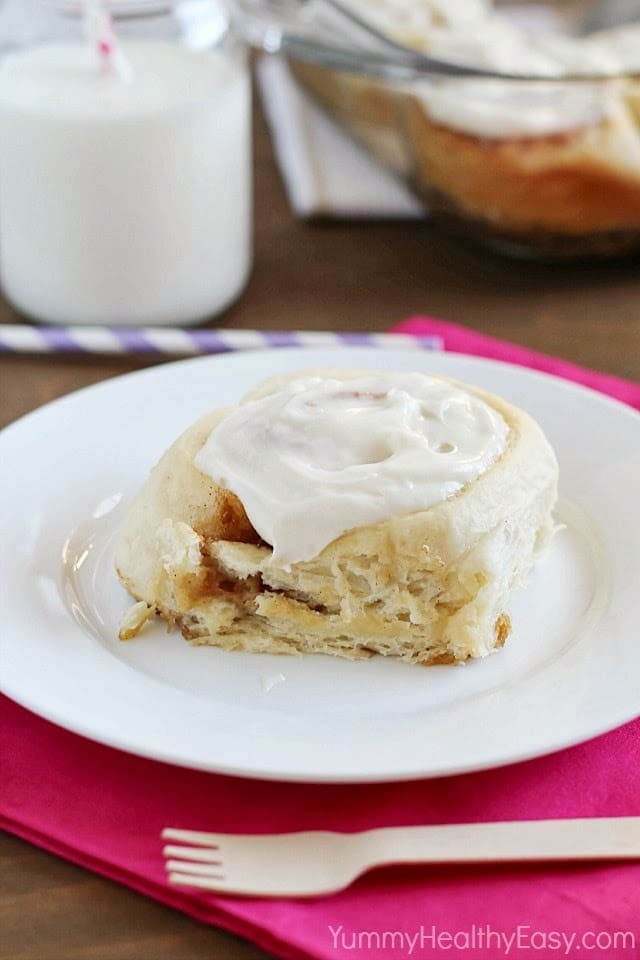 Easy Potato Cinnamon Rolls