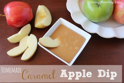 easy caramel dip for apples that anyone can make