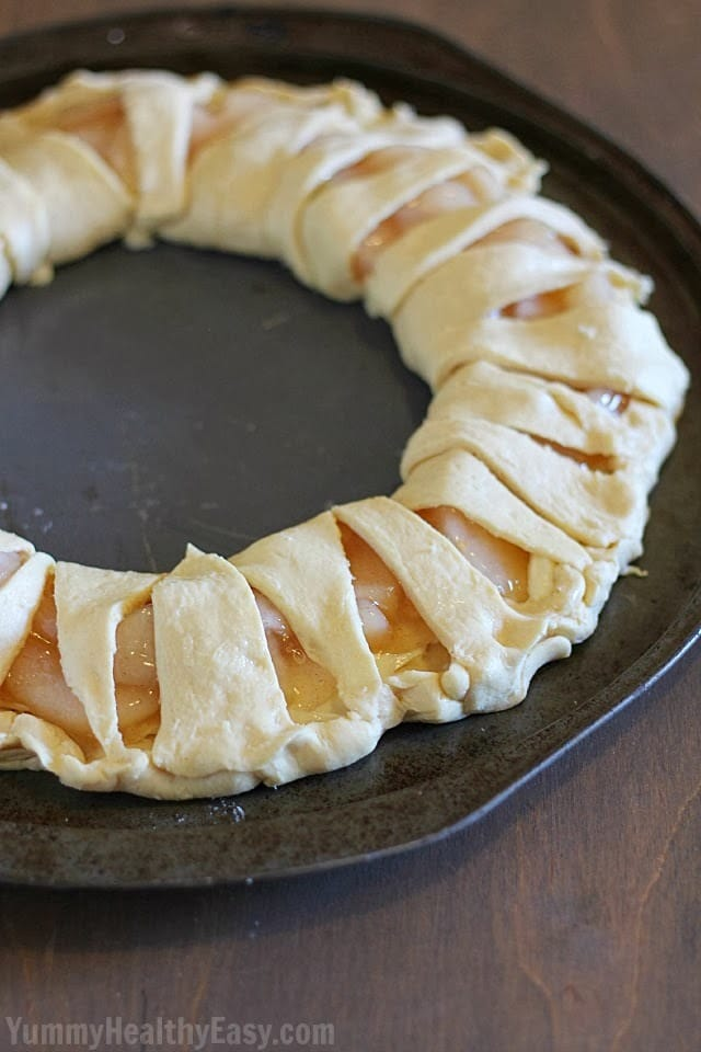 Apple Cream Cheese Breakfast Pastry