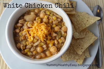 Amazing White Chicken Chili