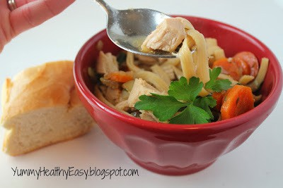 "Easy ""Homemade"" Chicken Noodle Soup"