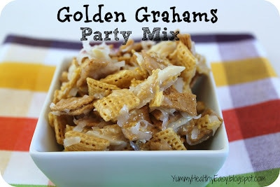 Golden Grahams Party Mix - I make this all the time!