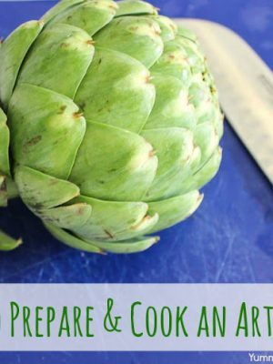 How To Prepare & Cook An Artichoke (in the Slow Cooker!)