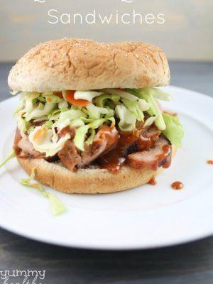 Quick BBQ Pork Sandwiches