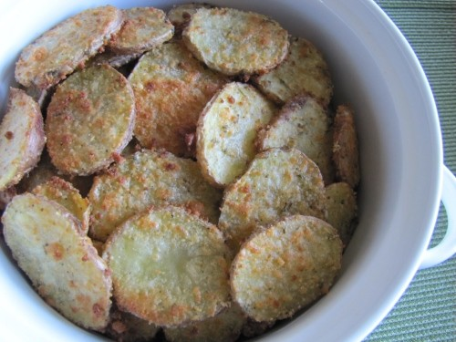 Baked Parmesan Potatoes
