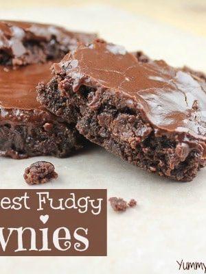 World's Best Fudgy Brownies