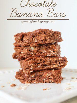 Chocolate Banana Bars