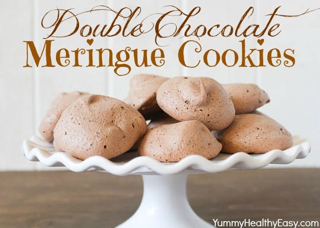 Double Chocolate Meringues