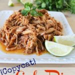 photograph about Cafe Rio Printable Menu named Copycat Restaurant Rio Adorable Pulled Pork Crock Pot