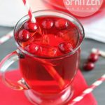 Cranberry Spritzer - perfect easy drink for the holidays!
