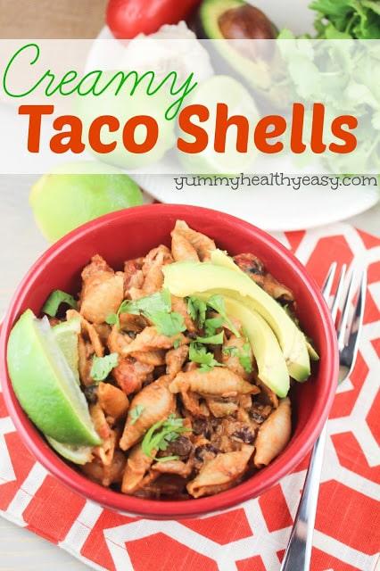 Creamy Taco Shells