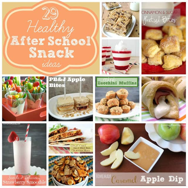 29 Healthy After School Snack Ideas