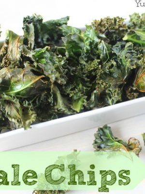Easy & Healthy Baked Kale Chips