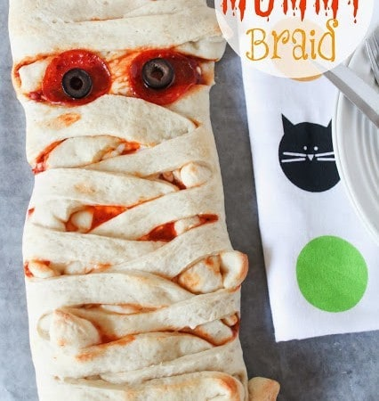Pizza Mummy Braid