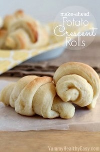 Make-Ahead Potato Crescent Rolls