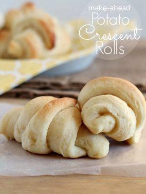 Make-Ahead Potato Crescent Rolls