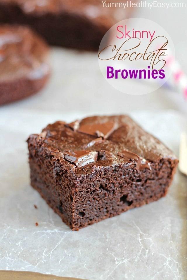 Skinny Chocolate Brownies - Yummy