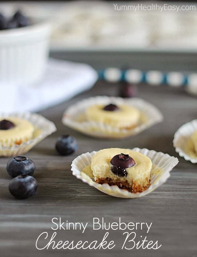 Skinny Cheesecake Bites