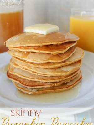 Skinny Pumpkin Pancakes