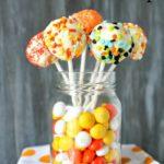 Skinny Halloween Cake Pops