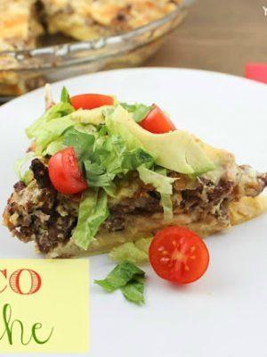 Easy Taco Quiche