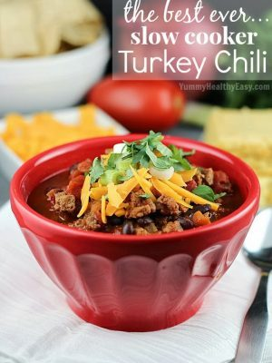 The BEST EVER Turkey Chili