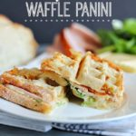 Turkey & Swiss Waffle Panini