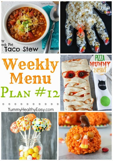 Easy Weekly Menu Plan