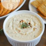 Easy and Healthy White Bean Dip