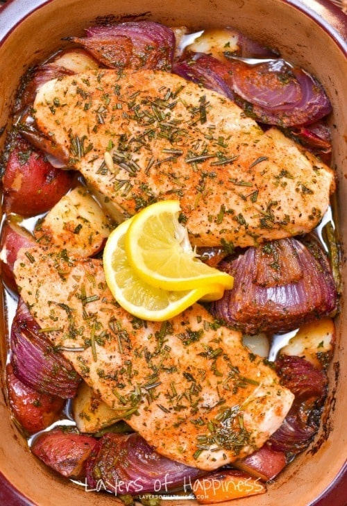 CHICKEN-VEGETABLE-BAKE