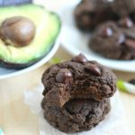 Chocolate Cookies with what's that?! AVOCADO?! Yup. Amazing, moist, chocolatey, rich Double Chocolate Avocado Cookies! Prepare to fall in love.