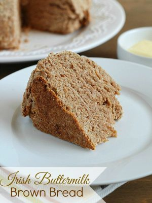 Irish Buttermilk Brown Bread