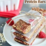 Raspberry Chocolate Protein Bars