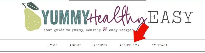 Creating a Recipe Box with Ziplist right from Yummy Healthy Easy