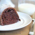 Skinny Chocolate Bundt Cake