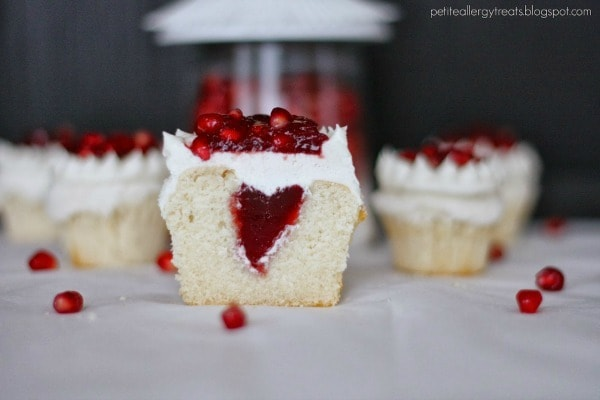 pomegranate cup cake 5