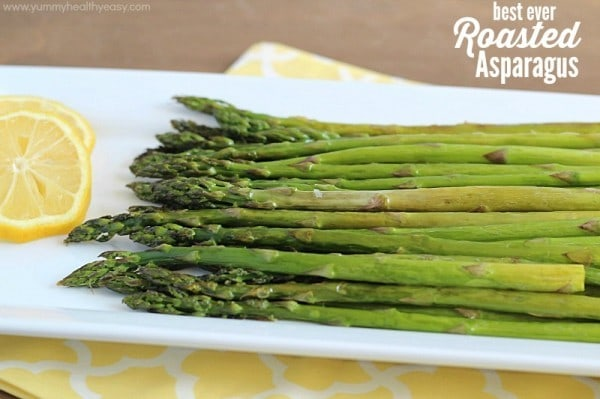 Best Roasted Asparagus EVER!!