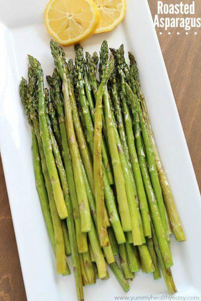 Best EVER Roasted Asparagus