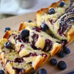 Blueberry Swirl Pound Cake - Kleinworth & Co