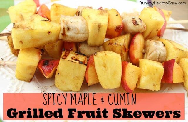 Grilled Fruit Skewers - classyclutter.net