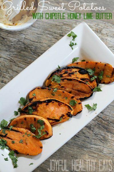 Grilled Sweet Potatoes - www.joyfulhealthyeats.com