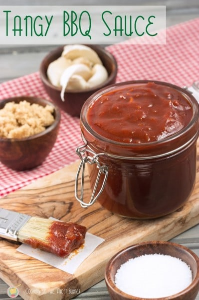 Tangy BBQ Sauce - www.cookingonthefrontburner.com