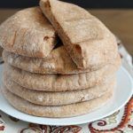 Homemade Whole Wheat Pita Bread   super easy, foolproof pita bread recipe that's healthy and tastes much better than store-bought!