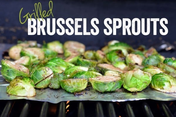 Grilled Brussels Sprouts - fitfoodiefinds.com